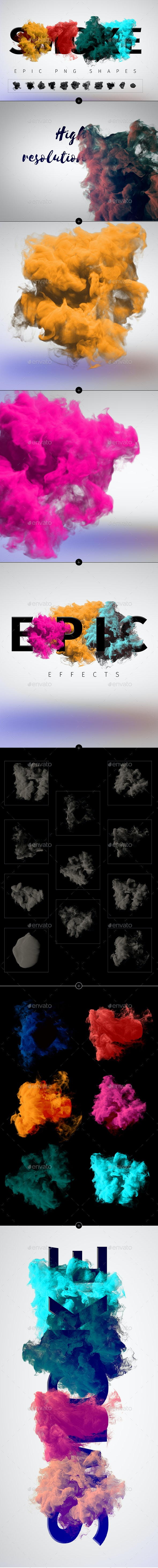 Smoke PNG Shapes - Miscellaneous Graphics