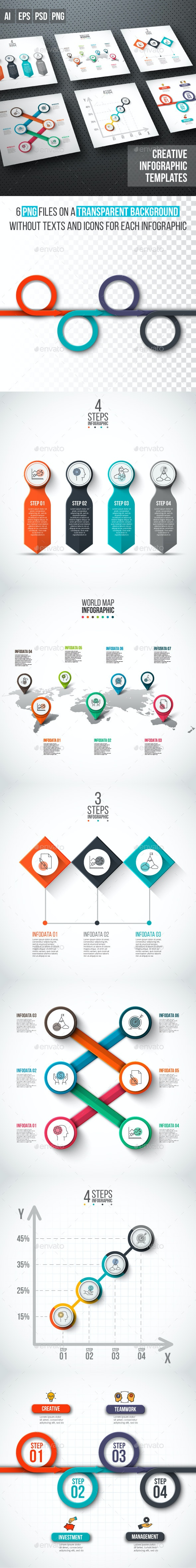 Business infographic diagrams v.14 - Infographics