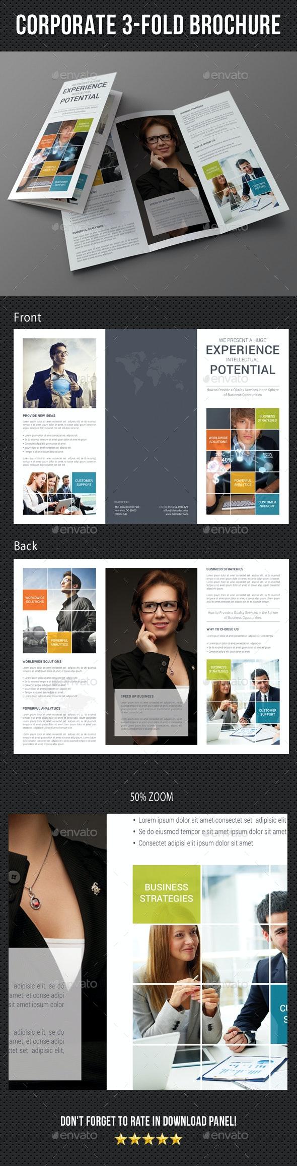 Corporate Business 3-Fold Brochure 04 - Corporate Brochures