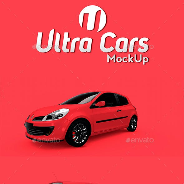 Car Branding Mock-Up