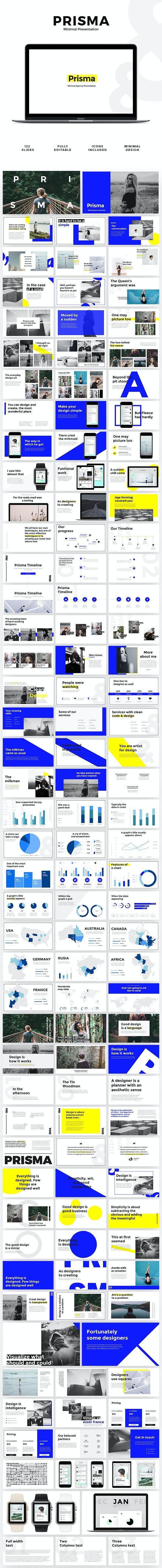 Prisma - Minimal Presentation - Creative PowerPoint Templates