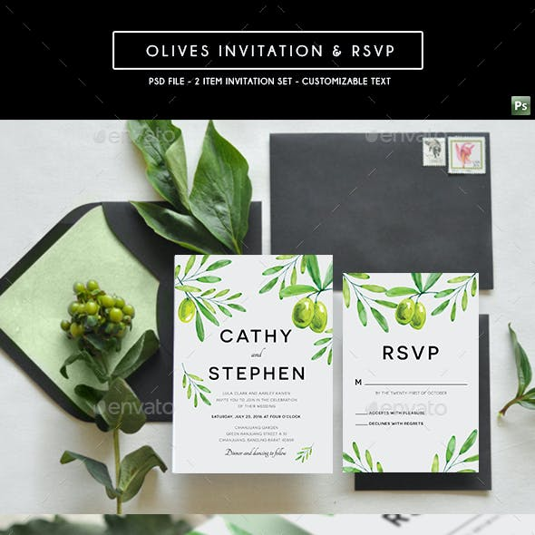 Olives Invitation