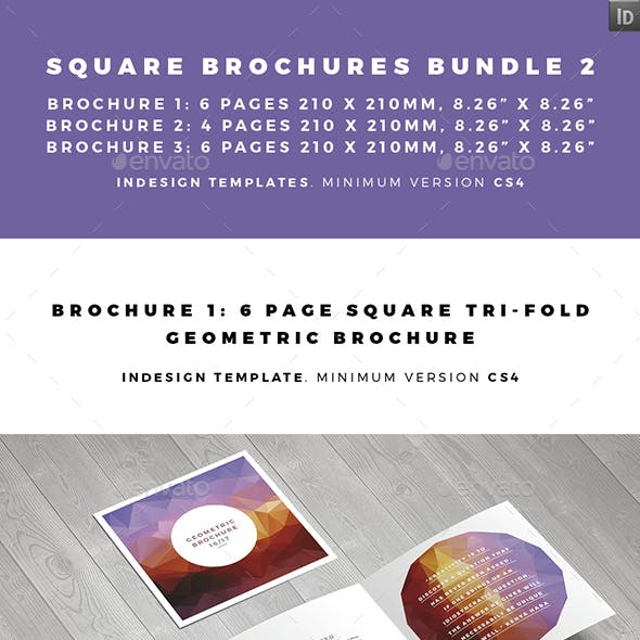 Z-fold Brochure Templates from GraphicRiver