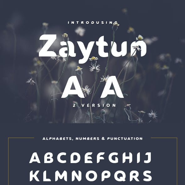 Zaytun Typeface