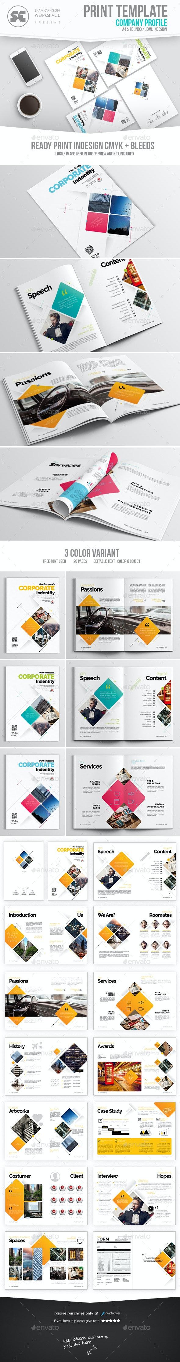 Modern Company Profile - Corporate Brochures