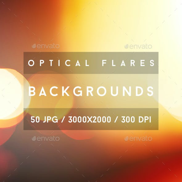 50 Optical Flares Backgrounds