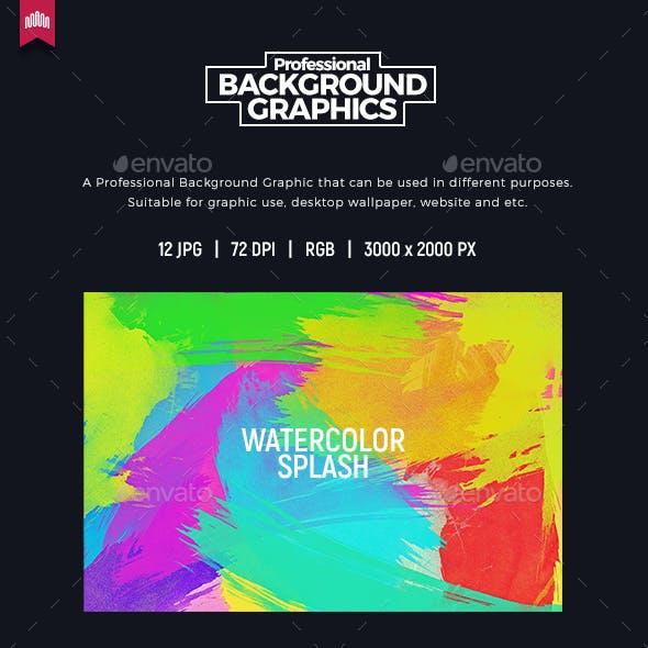 Watercolor Splash - Background