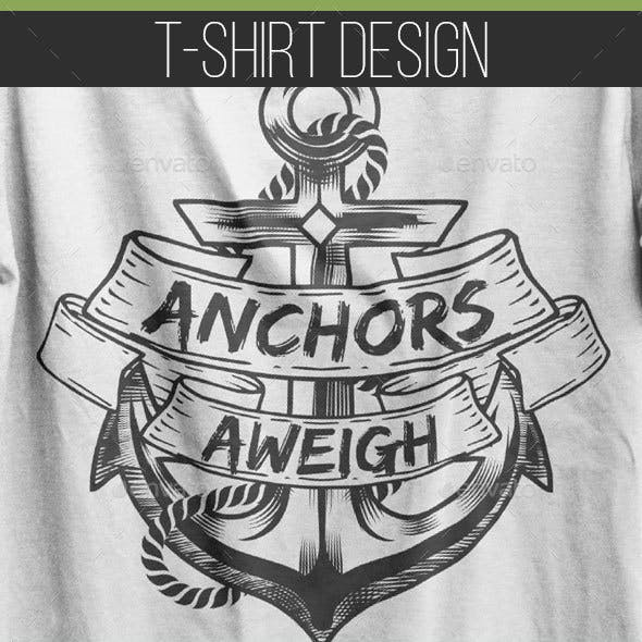 Anchor Shirt Graphics, Designs & Template from GraphicRiver