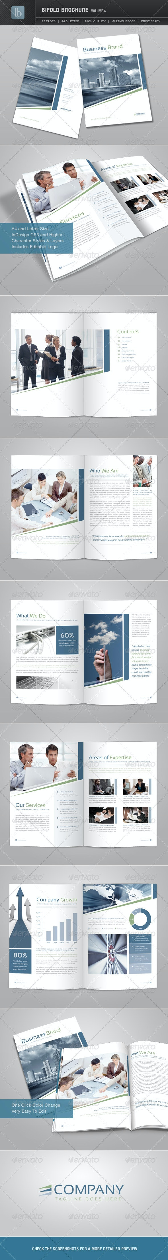 Bifold Brochure | Volume 6 - Corporate Brochures