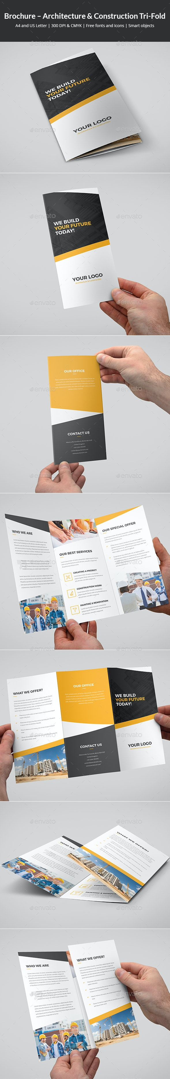 Brochure – Architecture and Construction Tri-Fold - Corporate Brochures