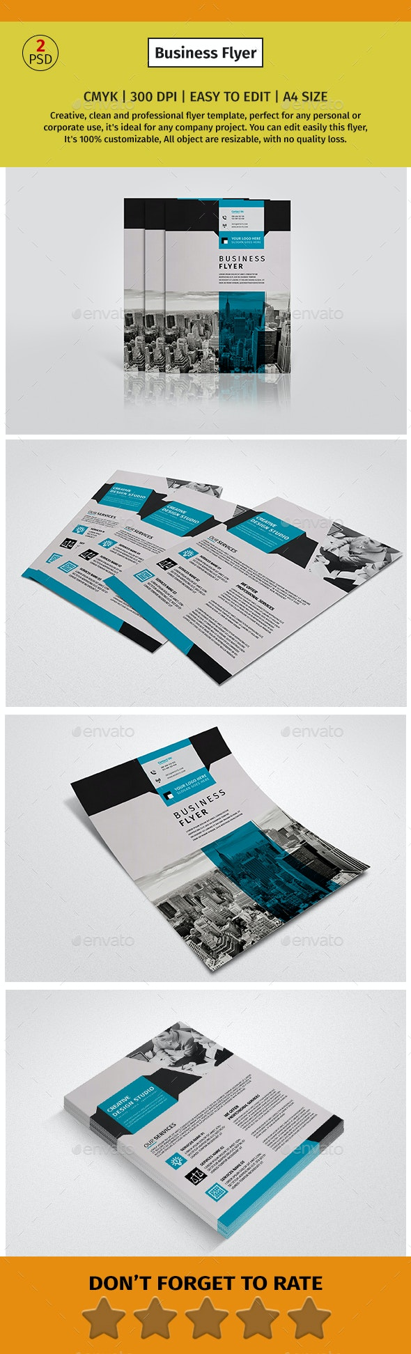 A4 Corporate Business flyer #2 - Corporate Flyers