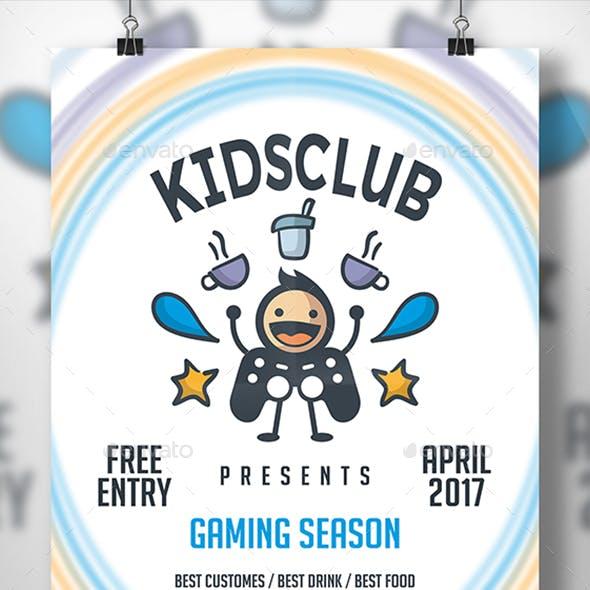 Geek Gaming Flyer