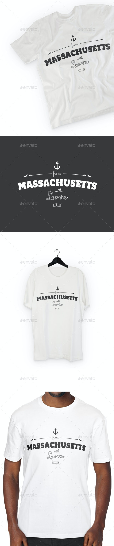 Massachusetts T-Shirt Design - Sports & Teams T-Shirts