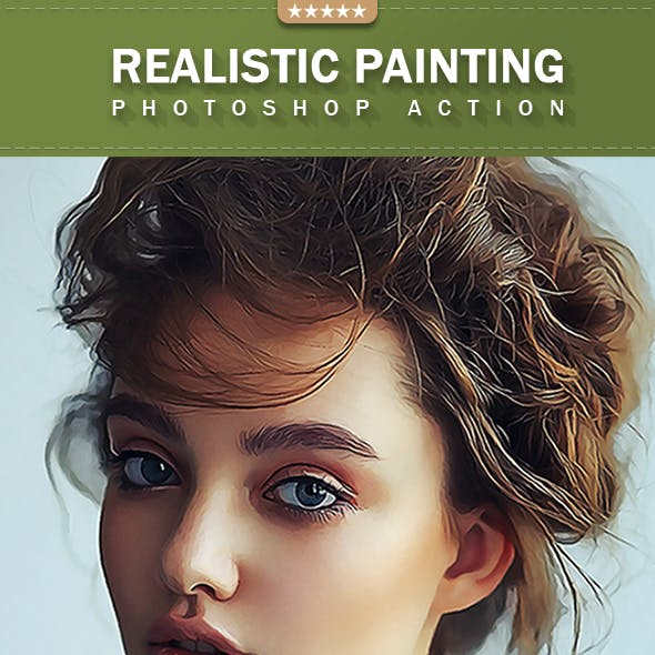Realistic Painting Photoshop Effect