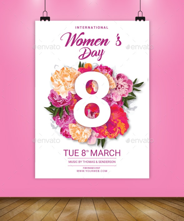 International Womens Day Flyer Template - Flyers Print Templates
