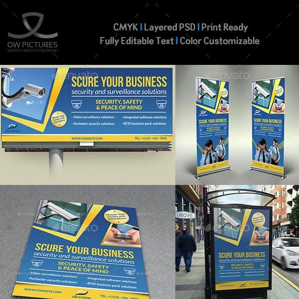 Security System Advertising Bundle
