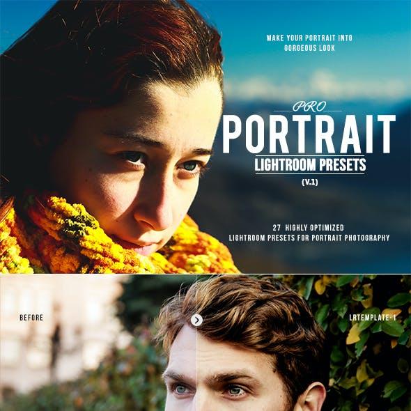 Pro Portrait Lightroom Presets