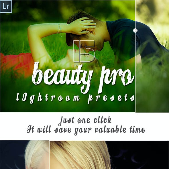 15 Beauty Pro Lightroom Presets