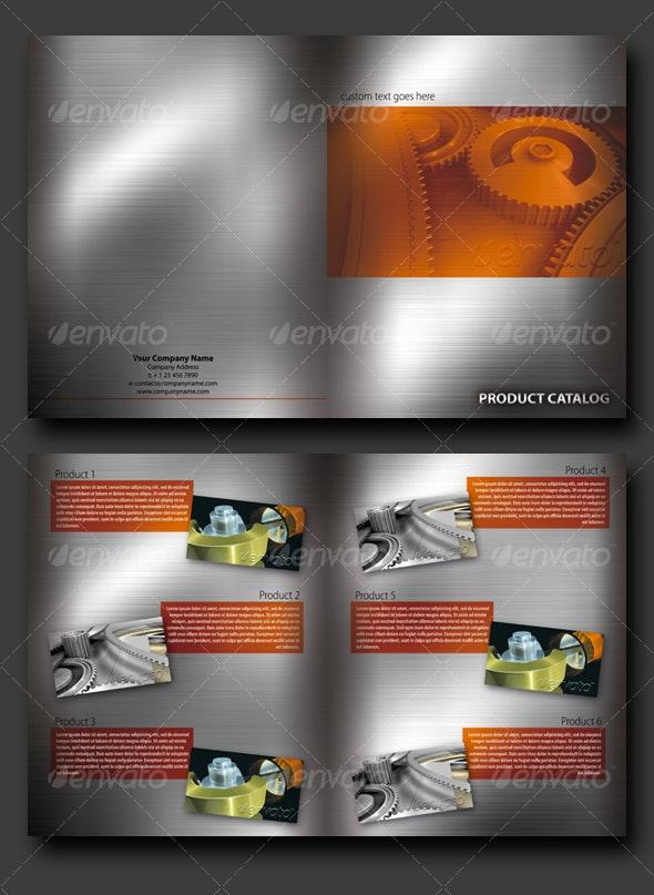 Brushed Aluminium Brochure - Corporate Brochures