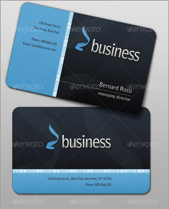 Rossi Business Cards - Corporate Business Cards