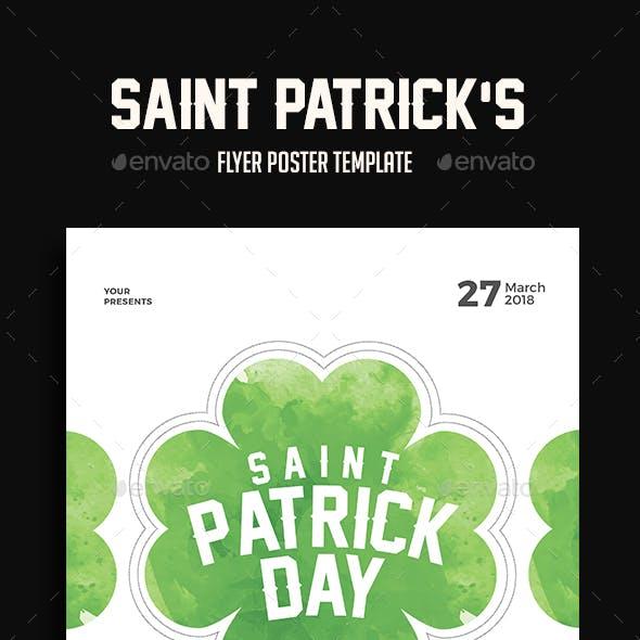 Saint Patrick's Event Flyer