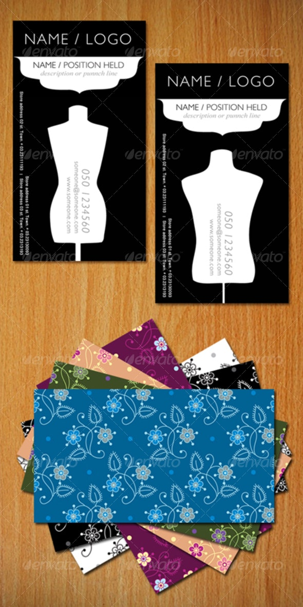 Fashion business card - Industry Specific Business Cards