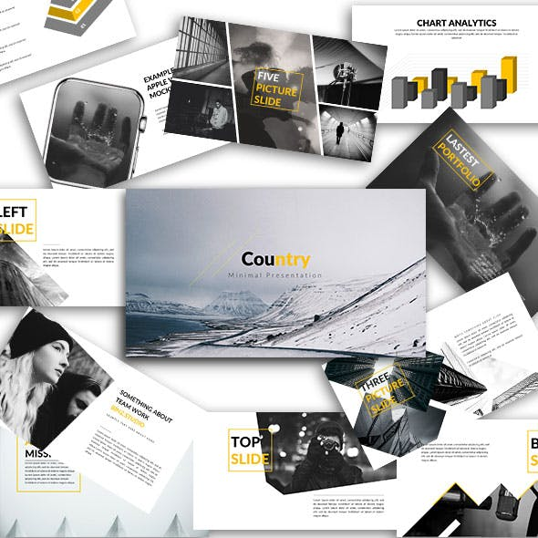 Country - Creative Keynote Template
