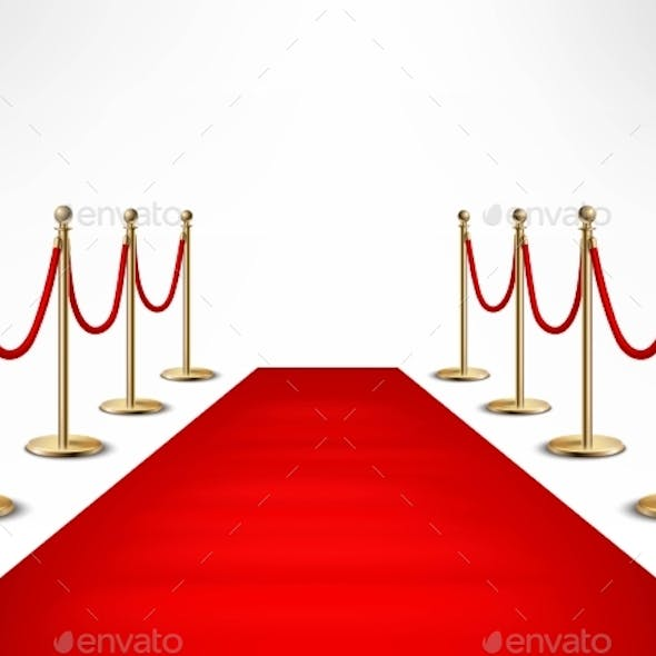 Red Carpet Celebrities Formal Event Banner By Macrovector Graphicriver
