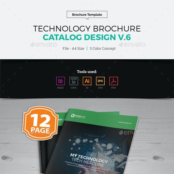 Technology Brochure Catalog Design v6