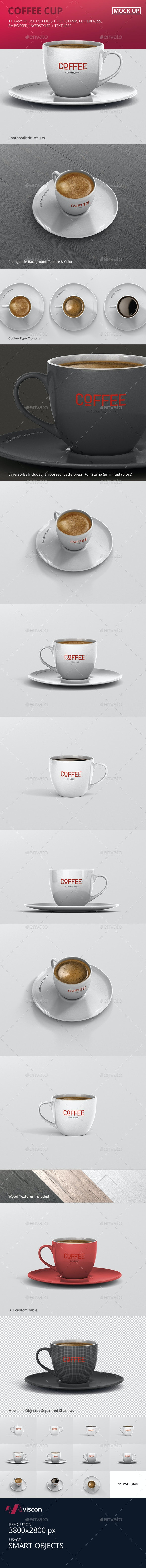 Coffee Cup Mockup - Food and Drink Packaging