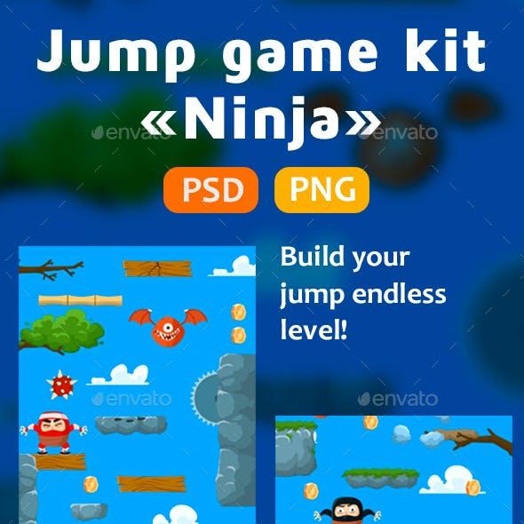Jump Ninja Game Kit