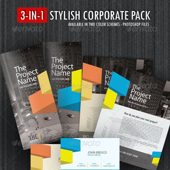 3-in-1 Stylish Corporate Pack