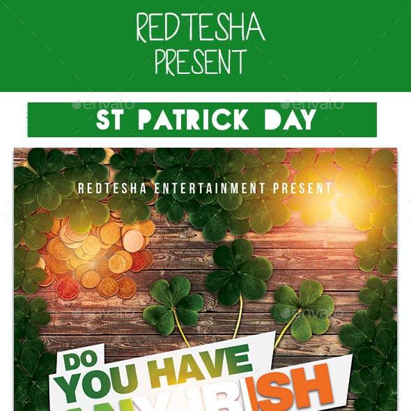 St Patrick Days Flyer
