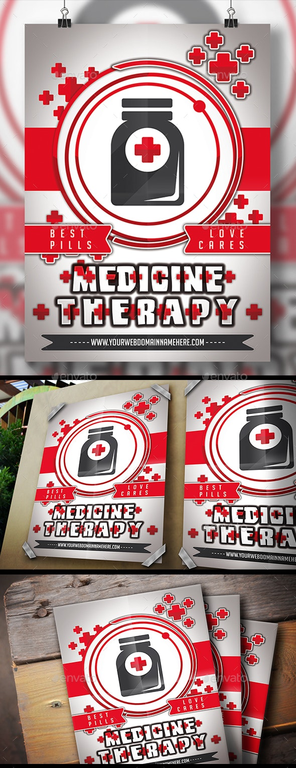 Medicine Flyer - Corporate Flyers