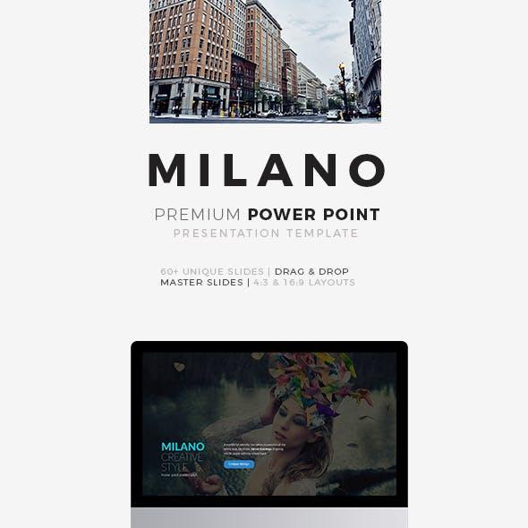 Milano Power Point Presentation Premium