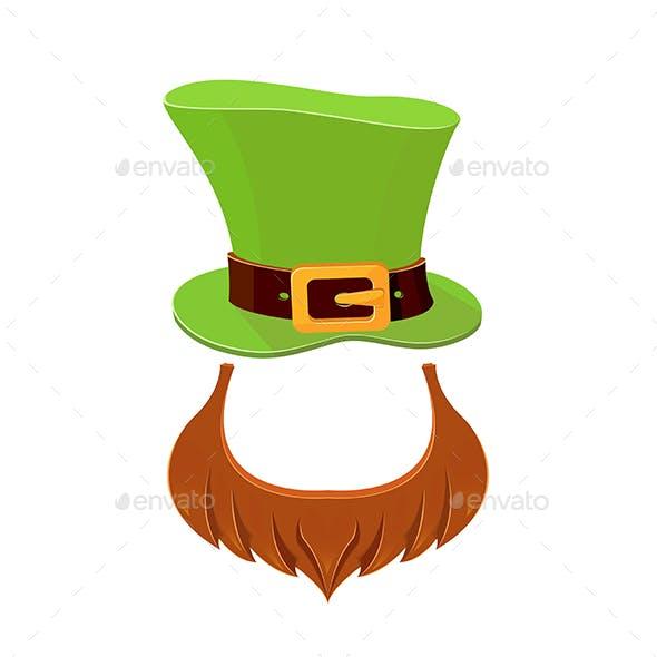 Hat and Beard Leprechaun