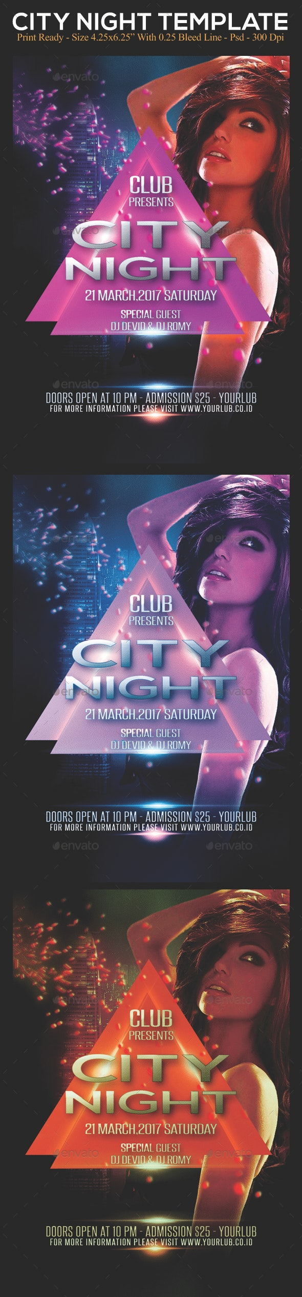 City Night - Clubs & Parties Events