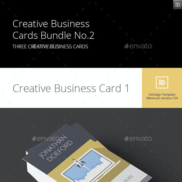 Creative Business Cards Bundle No.2