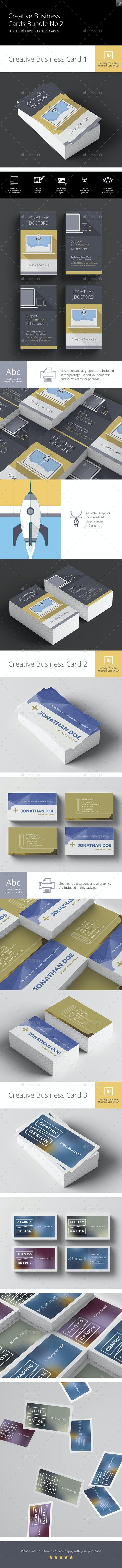 Creative Business Cards Bundle No.2 - Creative Business Cards