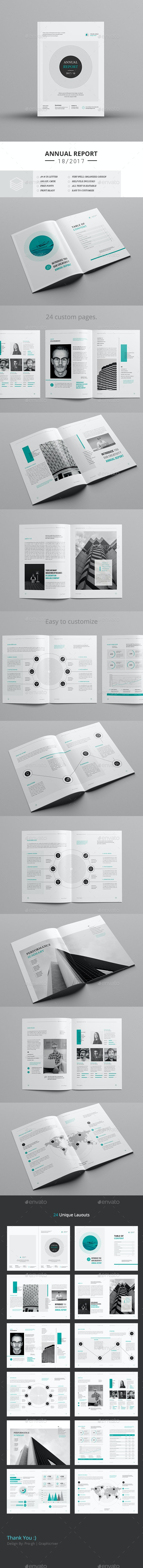 Annual Report A4 & Us Letter - Corporate Brochures