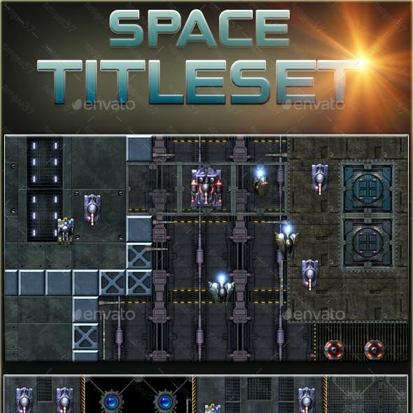 Scifi Space Tileset