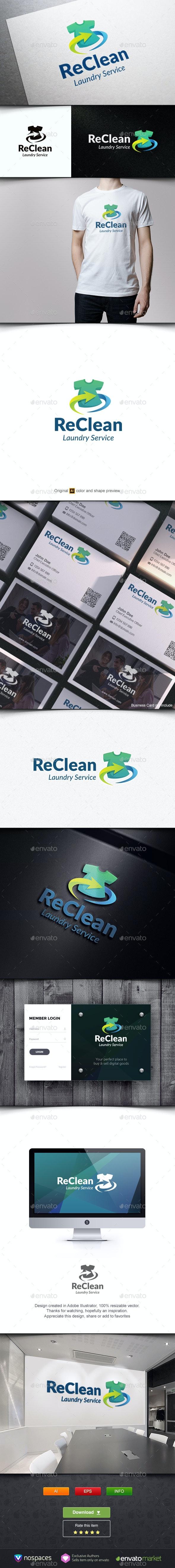 ReClean - Symbols Logo Templates