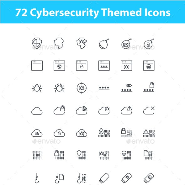 Cybersecurity Icons
