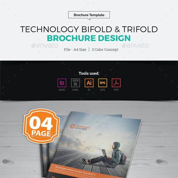 Technology Bifold & Trifold Brochure