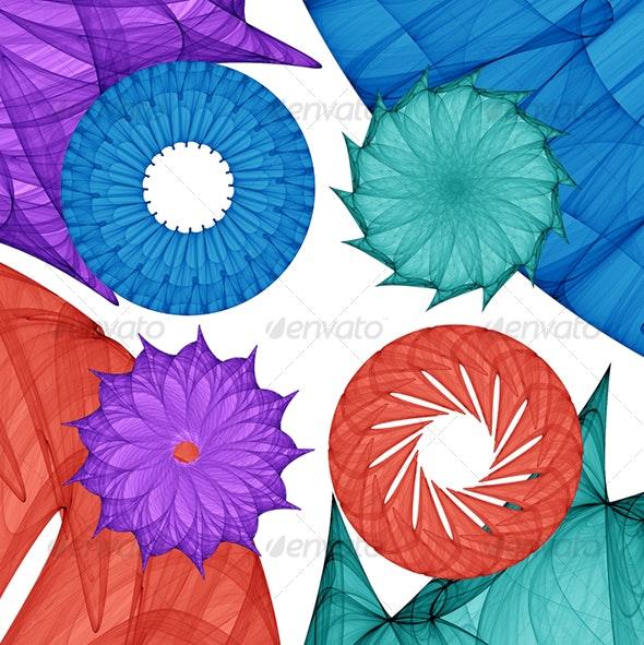 Mandalas 02 - Decorative Symbols Decorative
