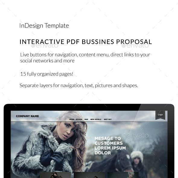 Interactive PDF Catalogue