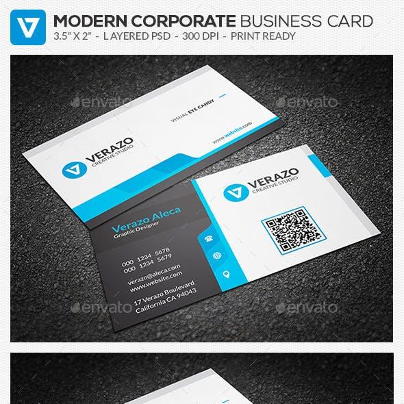 Creative & Modern Corporate Business Card Template