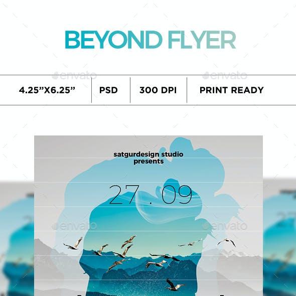 Beyond Music Flyer