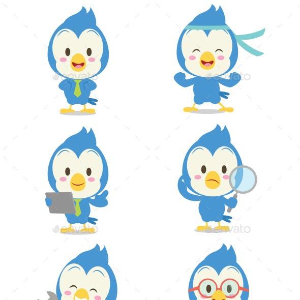 Blue Jay Set Character