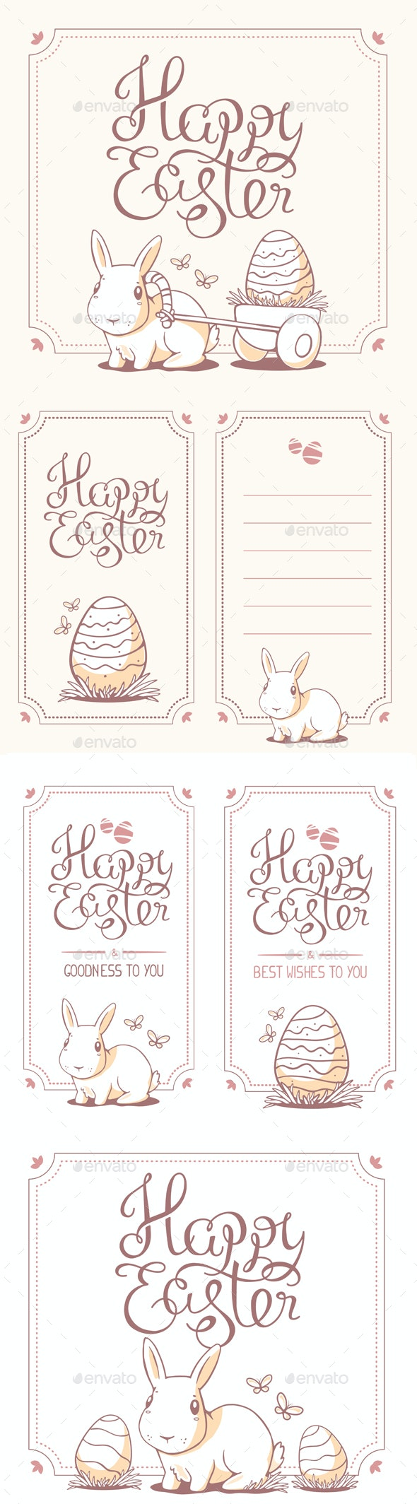 Collection of Happy Easter Greeting Cards - Miscellaneous Seasons/Holidays